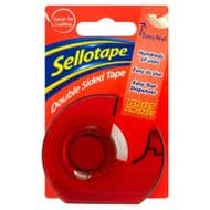 Sellotape Double Sided Dispenser - 15mm x 5m